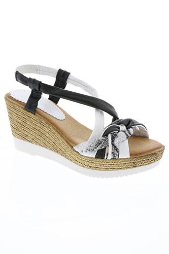 marila chaussures femme de couleur blanc