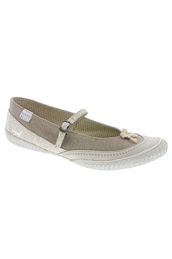 chipie chaussures femme de couleur beige