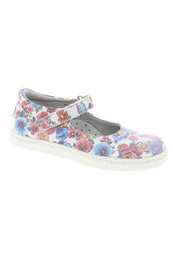 mod8 chaussures fille de couleur blanc