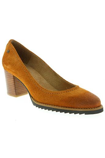 mtng chaussures femme de couleur marron