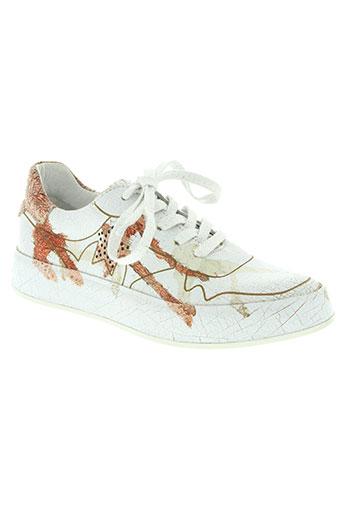 felmini chaussures femme de couleur blanc