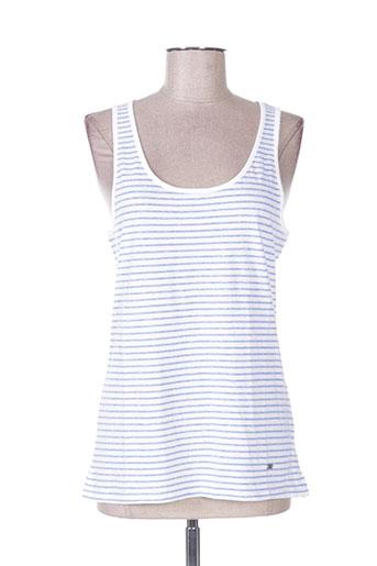 b&m t-shirts femme de couleur bleu