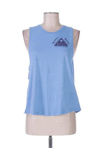 roxy girl t-shirts femme de couleur bleu
