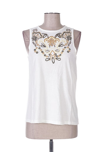 school rag t-shirts femme de couleur blanc