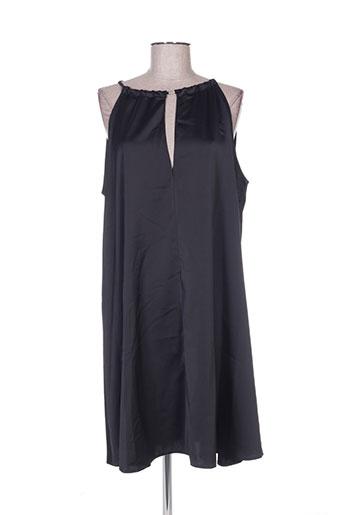 Robe mi-longue noir ADOREE pour femme