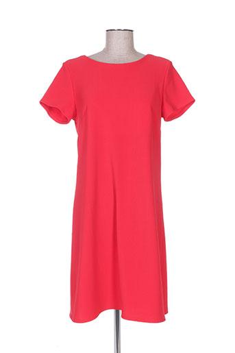 Robe mi-longue rouge ADOREE pour femme