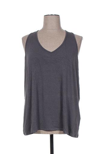 blk dnm t-shirts femme de couleur gris