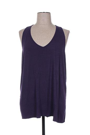 blk dnm t-shirts femme de couleur violet