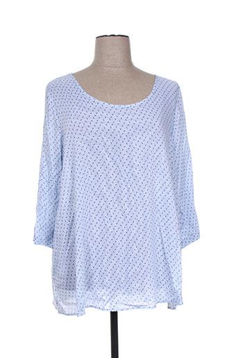 oltre tempo chemises femme de couleur bleu