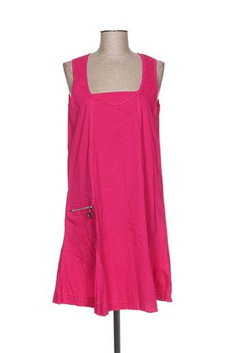 franck anna robes femme de couleur rose