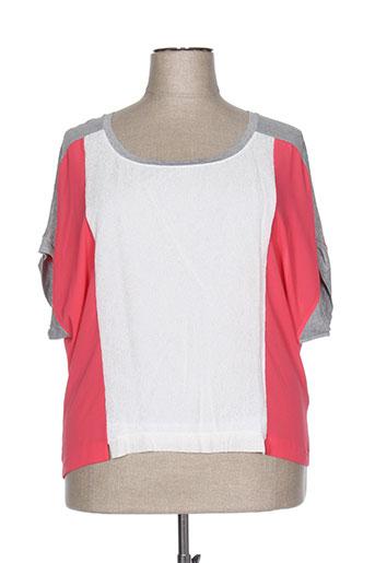 deca chemises femme de couleur rose