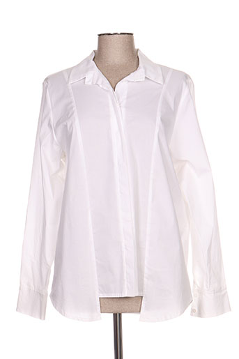 franck anna chemises femme de couleur blanc