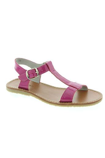 knepp chaussures fille de couleur rose