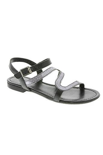 Sandales/Nu pieds noir REQINS pour fille