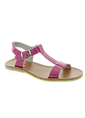 Sandales/Nu pieds rose KNEPP pour fille seconde vue