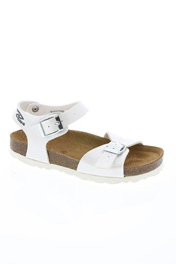 reqins chaussures fille de couleur blanc