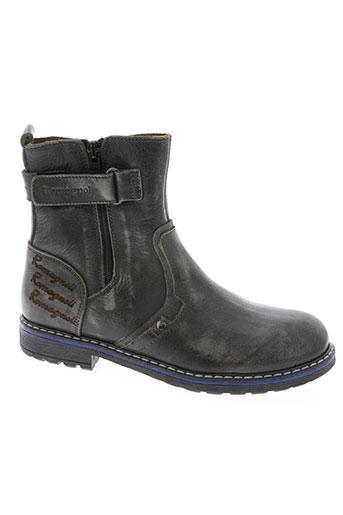 romagnoli chaussures garçon de couleur gris