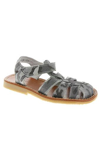 knepp chaussures garçon de couleur gris