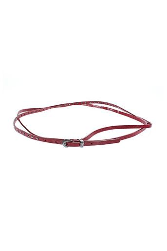 l'atelier bower accessoires femme de couleur rouge