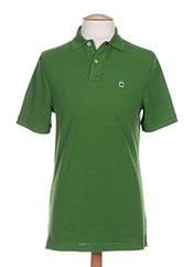 Polo manches courtes vert G STAR pour homme seconde vue