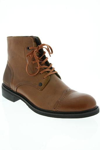 g star chaussures homme de couleur marron