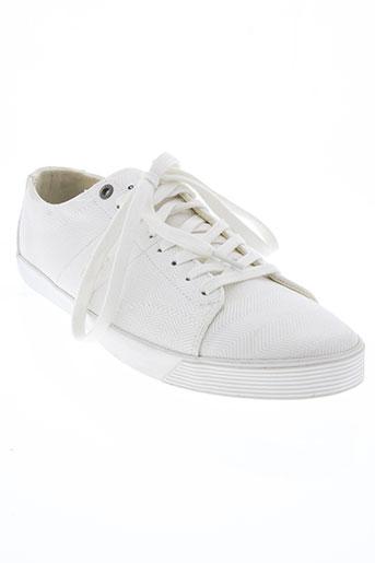 g star chaussures homme de couleur blanc
