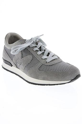 mascaret chaussures femme de couleur gris