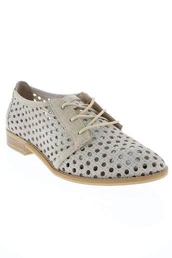 musse&cloud chaussures femme de couleur beige