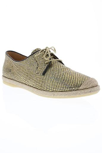 mkd chaussures femme de couleur jaune