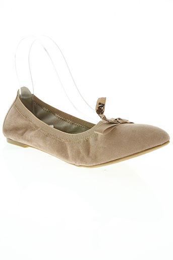 les p'tites bombes chaussures femme de couleur beige