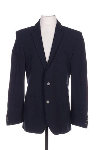 hugo boss vestes homme de couleur bleu