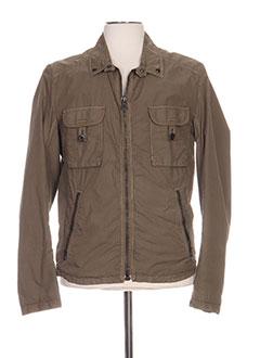 88f2ccd7003092 Vêtements Homme De Marque HUGO BOSS De Couleur Vert En Soldes Pas ...
