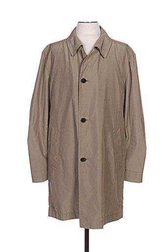 hugo boss manteaux homme de couleur beige