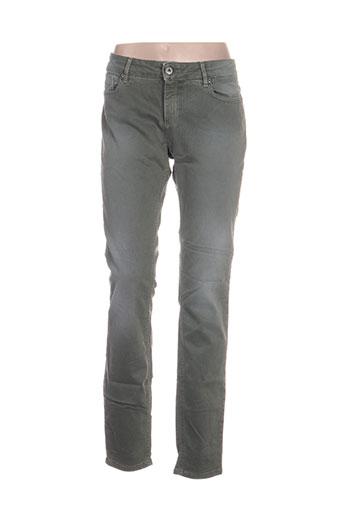 hugo boss jeans femme de couleur vert