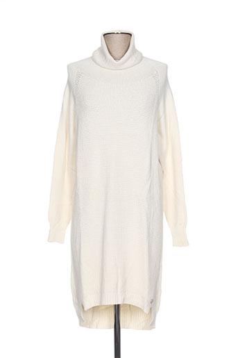 blanc boheme robes femme de couleur beige
