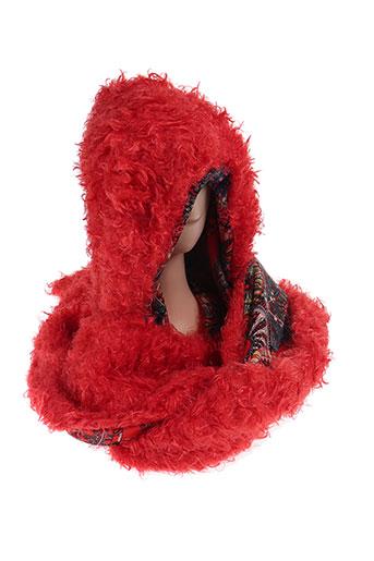 zoe la fee accessoires femme de couleur rouge