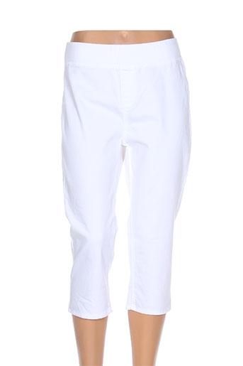 kanope pantacourts femme de couleur blanc