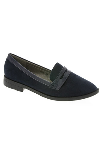 super mode chaussures femme de couleur bleu
