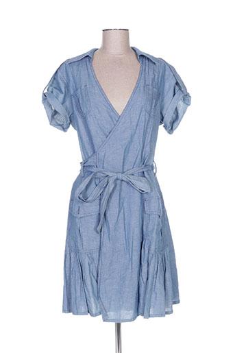rivieres de lune robes femme de couleur bleu