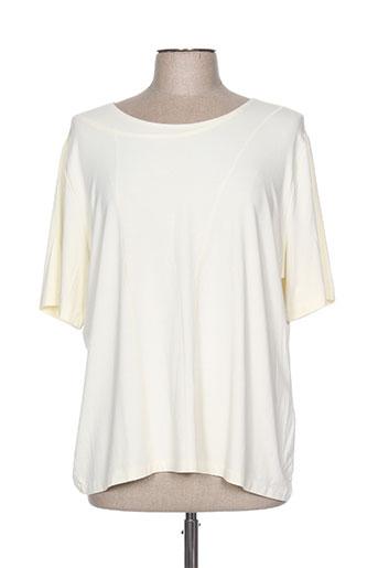 pause cafe t-shirts femme de couleur beige