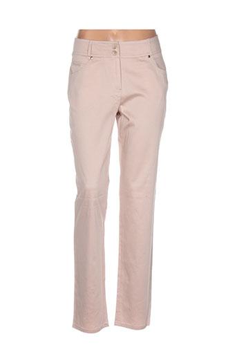quattro pantalons femme de couleur rose