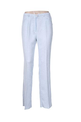 Pantalon chic bleu CHRISTIAN MARRY pour femme