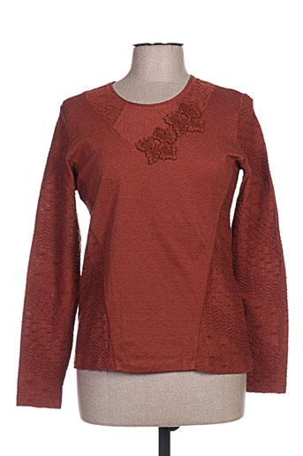 quattro chemises femme de couleur marron