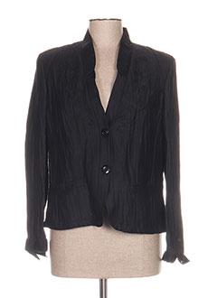 Veste chic / Blazer noir KIRSTEN pour femme