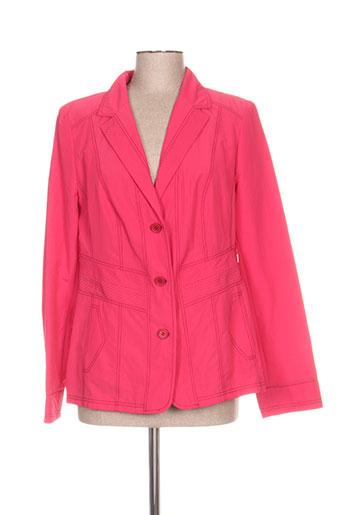 kirsten vestes femme de couleur rose
