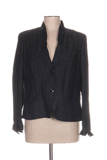 kirsten vestes femme de couleur noir