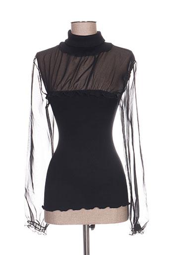 ghiro lingerie femme de couleur noir