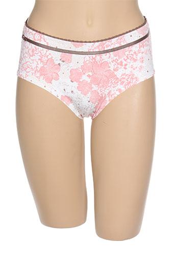 amoena lingerie femme de couleur rose