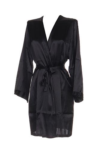 marjolaine nuit femme de couleur noir