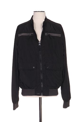 deeluxe vestes homme de couleur noir